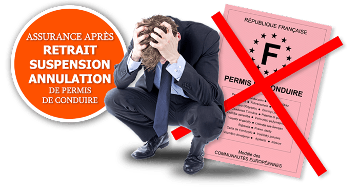 assurance auto résilié retrait permis