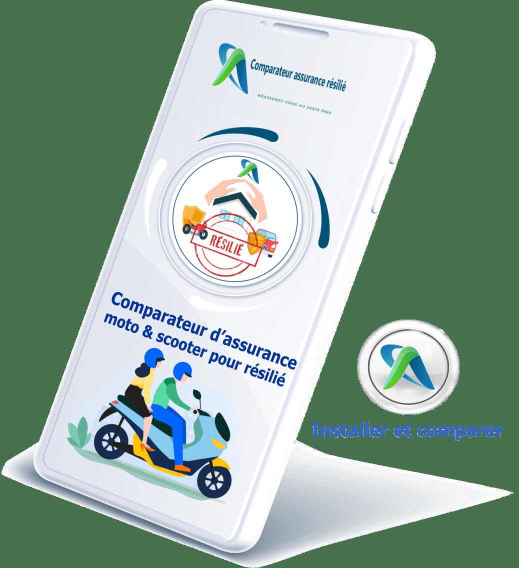 comparateur d'assurance moto pour résilié